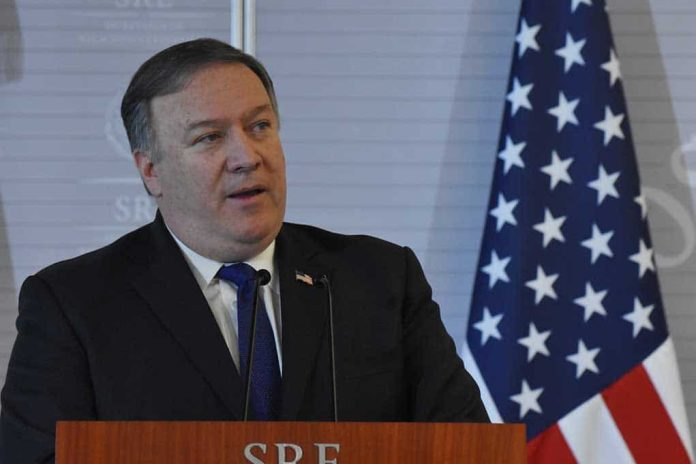 Secretary of State Pompeo Says Communist Party