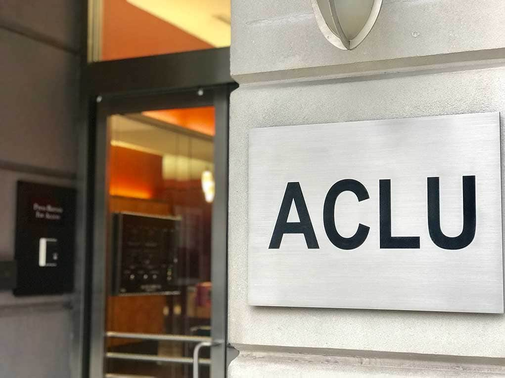 ACLU Warns of Unchecked Power After Facebook and Twitter Silence Trump
