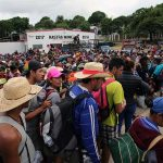 Migrant Caravan Stops In Guatemala Amid Crackdown