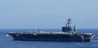 Pentagon Orders Aircraft Carrier on the Move After Iranian Threats
