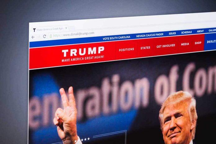 Shopify Takes Down Trump's Web Store