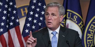 """Kevin McCarthy Says """"Dangerous"""" Politicization of Military Must Stop"""