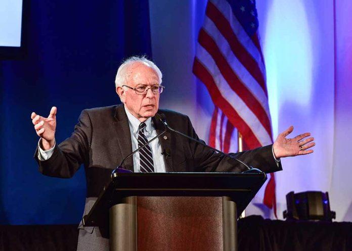 Bernie Defiantly Pushes Minimum Wage