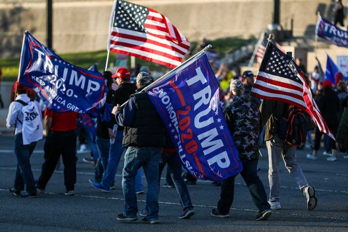 Over 1,000 Trump Supporters Show Up to Send Message to Democrats