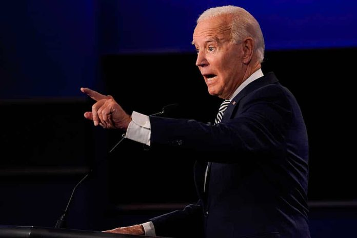 Biden Argued in 2020 the Choice Was Law or Lawlessness, He Chose Lawlessness