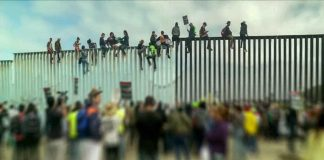 New Video Shows 6,000 Illegals Stationed Outside International Bridge Waiting to Flood Into US