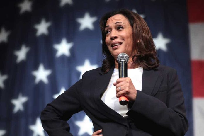 Kamala Harris Says Government Interference Is Bad on Same Day as Biden's Order