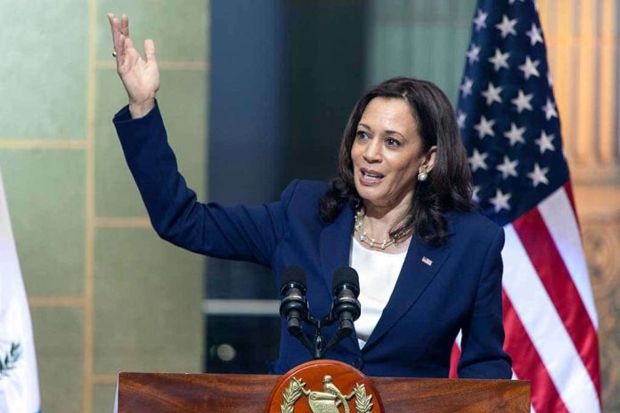 Hypocritical Harris Stands Up for First Amendment When It Suits Her
